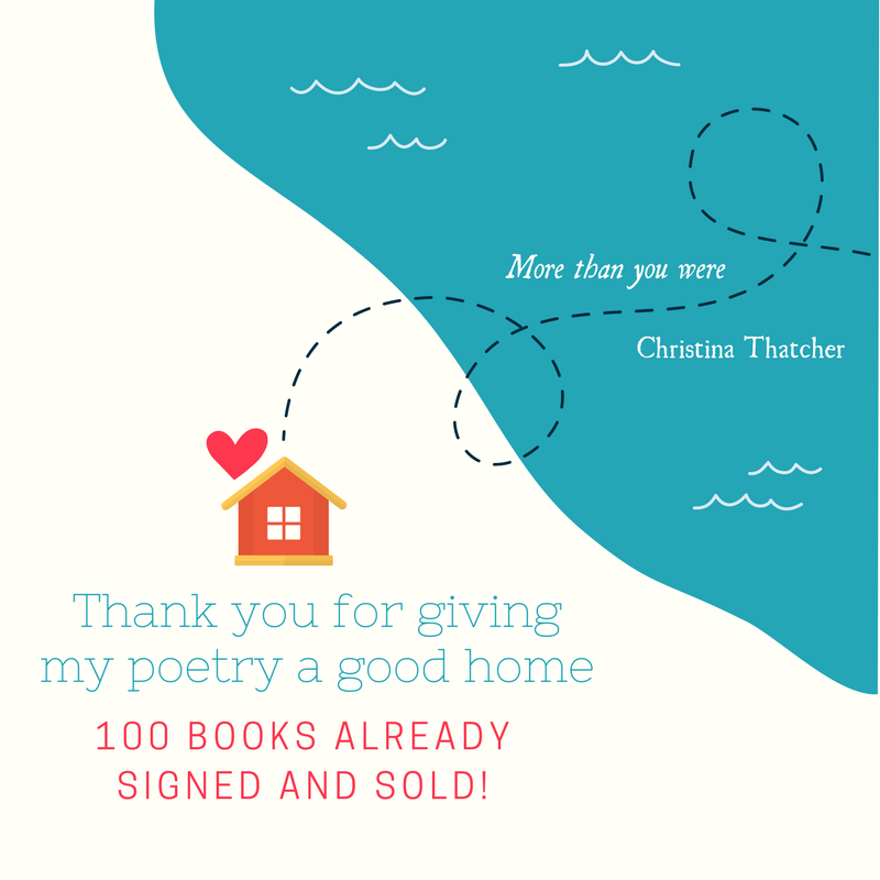 100 sales_Thank you for giving my poetry a home
